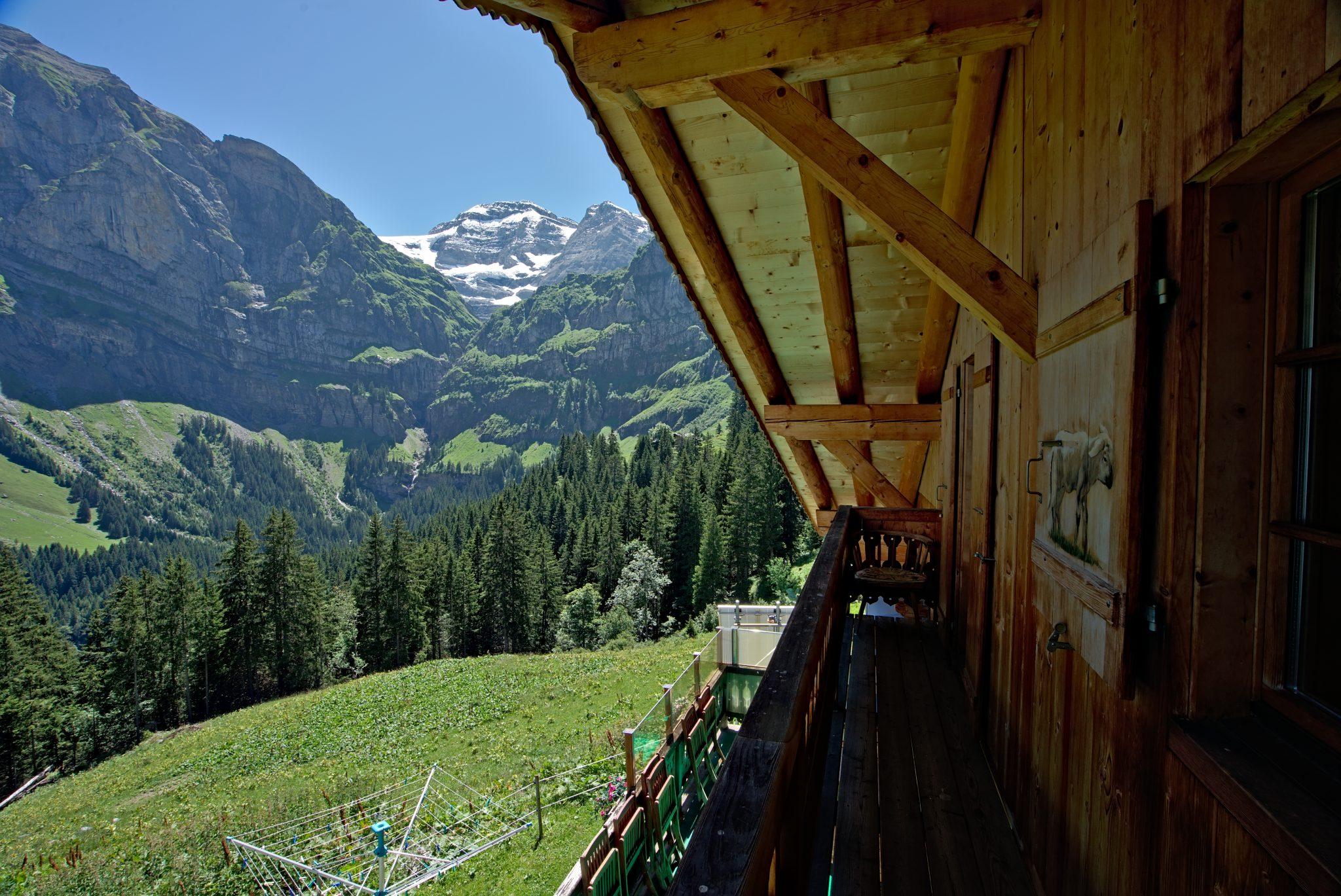 Refuge de Bonaveau - Hütte auf dem tour des dents blanches