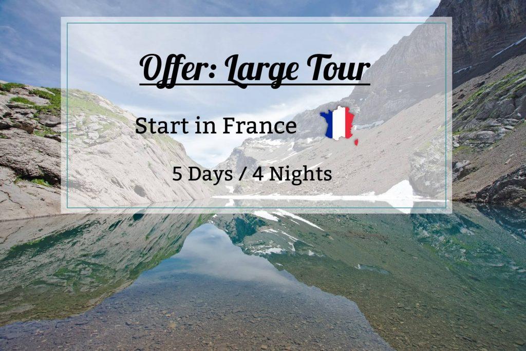 large tour France - tour Dents blanches