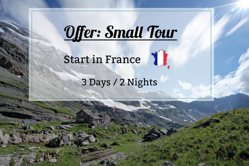 offer small tour - dents blanches