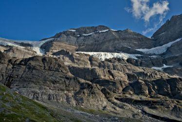 vue du glacier depuis la cabane de susanfe
