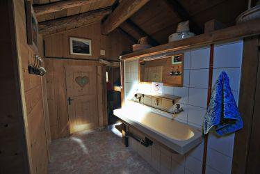 lavabo à l'étage