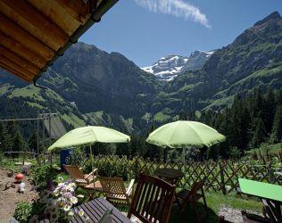 terrasse du refuge de bonaveau