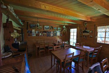 salle à manger - refuge de bonaveau
