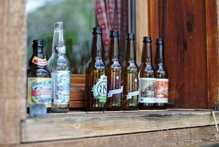 sélection de bières locales