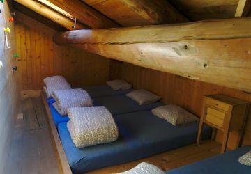 dortoir à l'étage